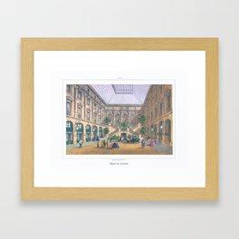 Paris art print Paris Decor office decoration vintage decor HOTEL DU LOUVRE of Paris Framed Art Print