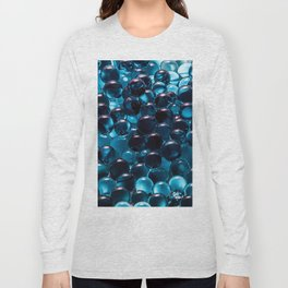 Blue hydrogel Long Sleeve T-shirt