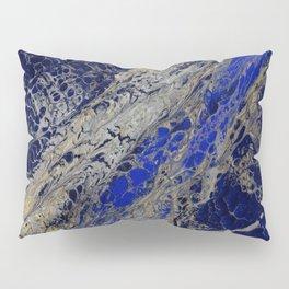 Blue Cracks Pillow Sham