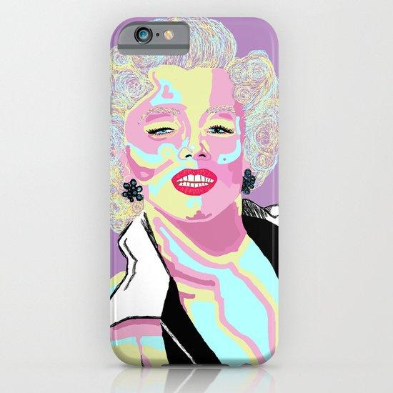 Marilyn M iPhone & iPod Case