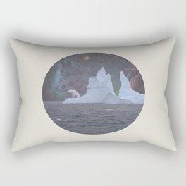 The Lonely Polarcorn Rectangular Pillow