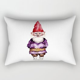 Alfred the Gnome Rectangular Pillow