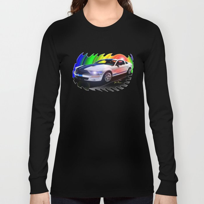 Mustang Shelby GT Long Sleeve T-shirt