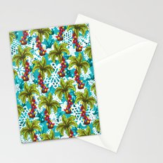 Tropical Christmas Stationery Cards