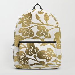 Cherry Blossoms – Gold Palette Backpack