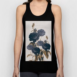 blue flowers Unisex Tank Top