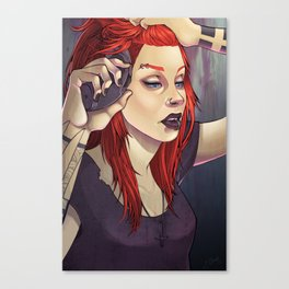 Petra 2.0 Pin-up Canvas Print