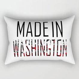 Made In Washington Rectangular Pillow