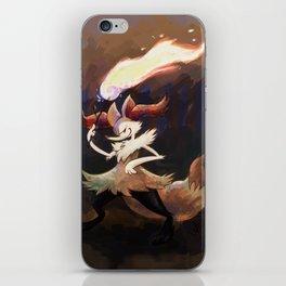Mystic Fire iPhone Skin