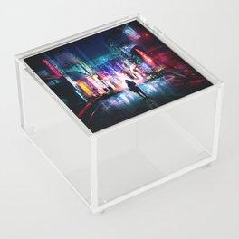 Tokyo Cyberpunk Japan Acrylic Box