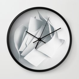 Abstract forms 22 Wall Clock