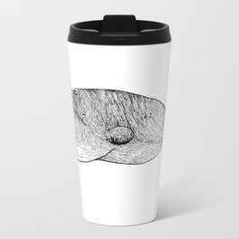 The Whale Metal Travel Mug