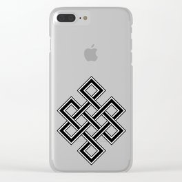 Endless Knot Clear iPhone Case