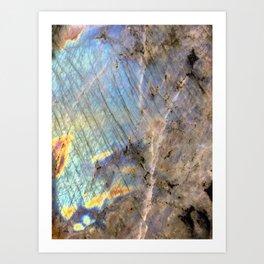 Labradorite Art Print