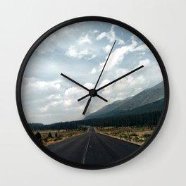 Road to Jasper Wall Clock