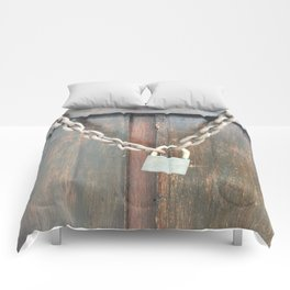 Locked. Fashion Textures Comforters