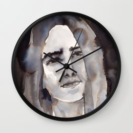 Faded smile Wall Clock