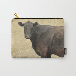 Vintage Cow Carry-All Pouch