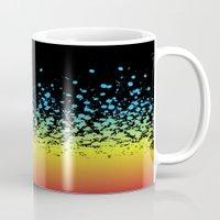 splatter Mugs featuring Splatter!! by natedosmil