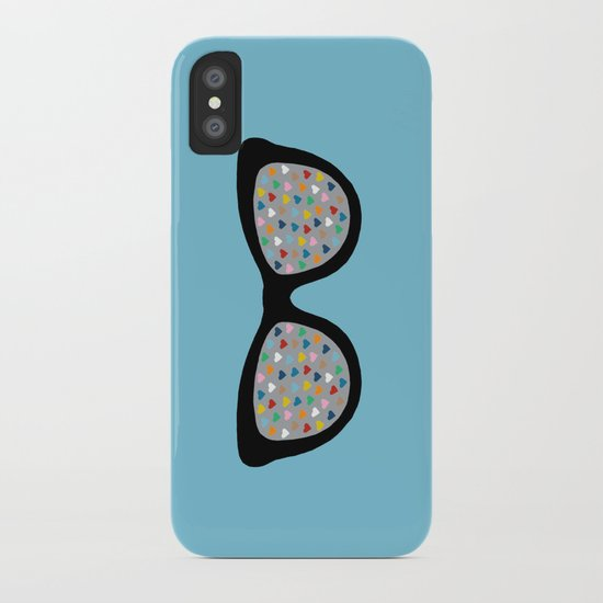 Heart Eyes iPhone Case