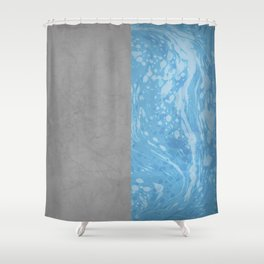 Rock & Water Shower Curtain