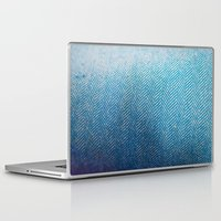 fabric Laptop & iPad Skins featuring Fabric by Anna Berthier