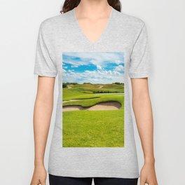 golf course Unisex V-Neck