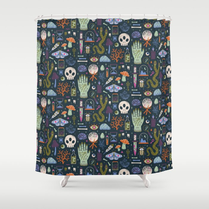 Curiosities Shower Curtain