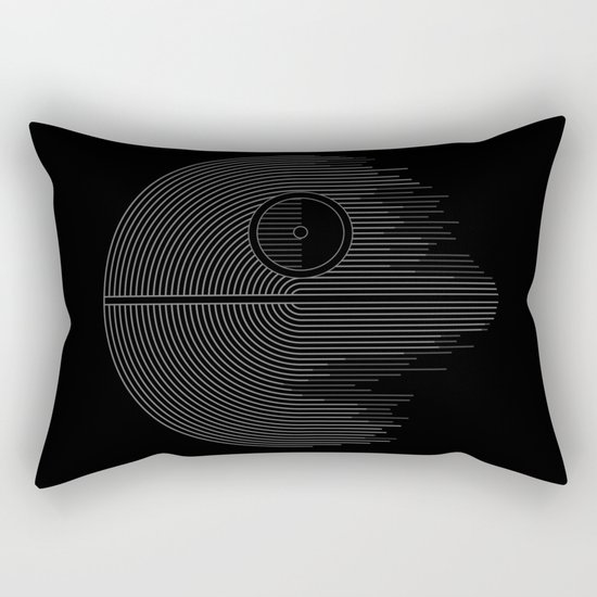 Minimalist Battlestation Rectangular Pillow