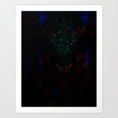 EH-WEANS-HELLO-2 Art Print