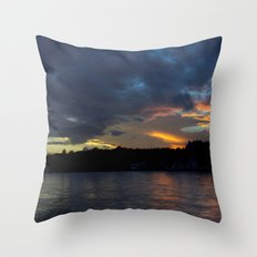 Sunset Panorama... Throw Pillow