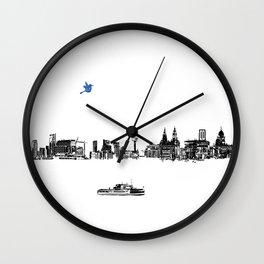 Liverpool city Wall Clock