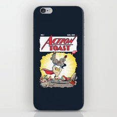 Action Toast iPhone & iPod Skin