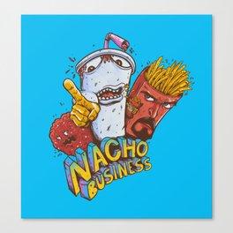 Nacho Business Canvas Print