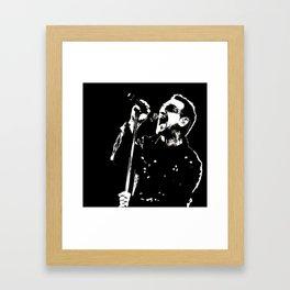 Bono cool art Framed Art Print