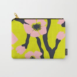 Pink Blooms Everywhere No 03 Carry-All Pouch
