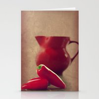 moulin rouge Stationery Cards featuring Rouge by Tanja Riedel