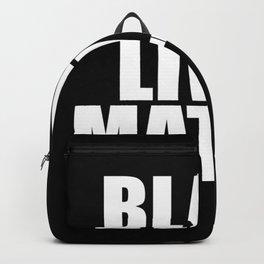 Black Lives Backpack