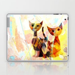Familie Katze Laptop & iPad Skin