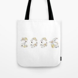White Flower 2006 Tote Bag