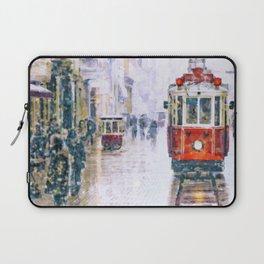 Istanbul Nostalgic Tramway Laptop Sleeve