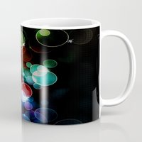 the lights Mugs featuring Lights by Digital-Art