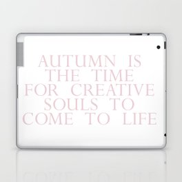 time for creative souls Laptop & iPad Skin
