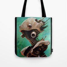 Twin #2 Robot Tote Bag