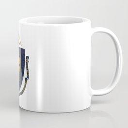 Massachusetts state flag - vintage look Coffee Mug