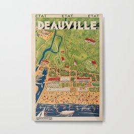 decor Deauville Metal Print