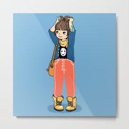 Chihiro Metal Print