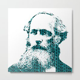 James Clerk Maxwell's Equations Metal Print