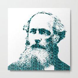 James Clerk Maxwell's Equations Metal Print