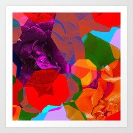 COLOURFUL DREAM 4 Art Print